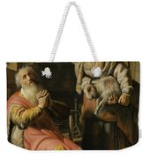 Tobit And Anna With The Kid Weekender Tote Bag