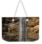 Toccoa Falls With Rainbow Weekender Tote Bag