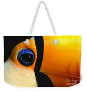 Toco Toucan Face Weekender Tote Bag