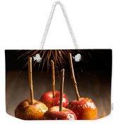 Toffee Apples Group Weekender Tote Bag by Amanda Elwell