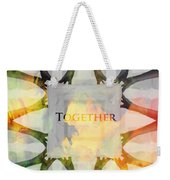 Together 2 Weekender Tote Bag