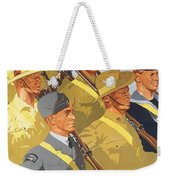 Together Propaganda Poster Weekender Tote Bag by Anonymous