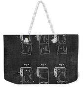 Toilet Paper Patent 040 Weekender Tote Bag