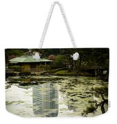 Tokyo Reflection Weekender Tote Bag