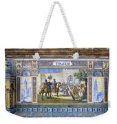 Toledo In The Province Alcove Of The Plaza De Espana Weekender Tote Bag