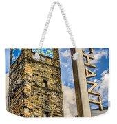 Tollbooth Clock Tower Glasgow Weekender Tote Bag