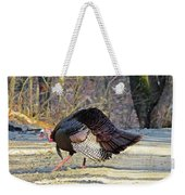 Tom Turkey Walking Weekender Tote Bag