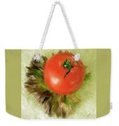 Tomato And Lettuce Weekender Tote Bag