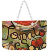 Tomato Soup Recipe Weekender Tote Bag