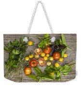 Tomatoes And Herbs Weekender Tote Bag