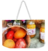 Tomatoes And Peaches Weekender Tote Bag