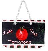 Tomatoes Market Sign Weekender Tote Bag