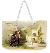 Tomb Of Joseph At Shechem 1839 Weekender Tote Bag