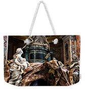 Tomb Of Pope Alexander Vii By Bernini Weekender Tote Bag