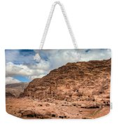 Tombs Of Petra Weekender Tote Bag