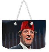 Tommy Cooper Weekender Tote Bag by Paul Meijering