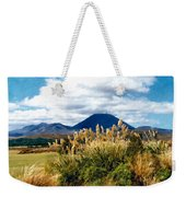 Tongariro National Park New Zealand Weekender Tote Bag