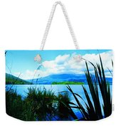 Tongariro National Park Oil On Canvas Weekender Tote Bag