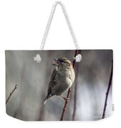 Tongue Of The Sparrow Weekender Tote Bag