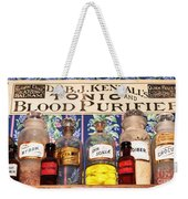 Tonic And Blood Purifier Weekender Tote Bag