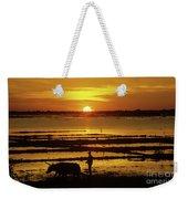 Tonle Sap Sunrise 01 Weekender Tote Bag