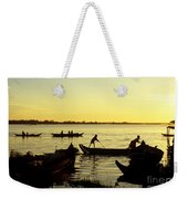 Tonle Sap Sunrise 05 Weekender Tote Bag