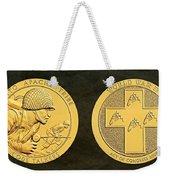 Tonto Apache Tribe Code Talkers Bronze Medal Art Weekender Tote Bag