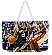 Tony Parker Painting Weekender Tote Bag