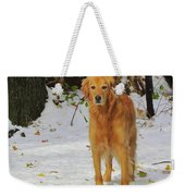 Too Early For Snow Mama Weekender Tote Bag