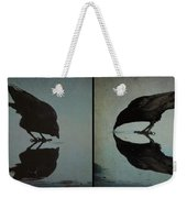 Too Much Self Reflection Can Lead To Narcissism Weekender Tote Bag