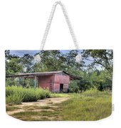 Tool Shed Out Back Weekender Tote Bag