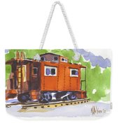 Toot Toot Weekender Tote Bag by Kip DeVore