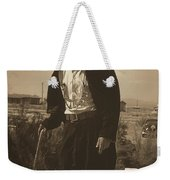 Top Hat And Tails Monochrome Weekender Tote Bag
