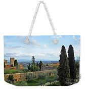 Top Of A Hill Town Weekender Tote Bag