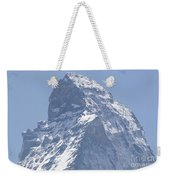 Top Of A Snow-capped Mountain Weekender Tote Bag