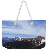 Top Of Independence Pass Panorama Weekender Tote Bag