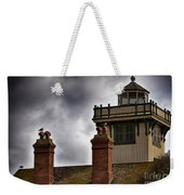 Top Of Point Fermin Lighthouse Weekender Tote Bag