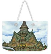 Top Of Temple In Wat Po In Bangkok-thailand Weekender Tote Bag
