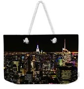 Top Of The Rock Weekender Tote Bag
