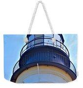 Top View Of Portland Head Light Weekender Tote Bag