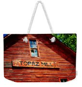 Topaz Weekender Tote Bag by Marty Koch