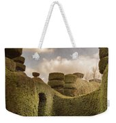 Topiary Maze In A Formal Garden Weekender Tote Bag
