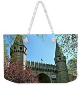 Topkapi Palace Wall And Gate In Istanbul-turkey Weekender Tote Bag