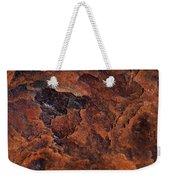Topography Of Rust Weekender Tote Bag