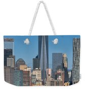 Topping Out Weekender Tote Bag