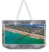 Topsail Island Aerial Panels II Weekender Tote Bag
