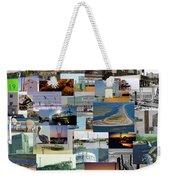 Topsail Island Nc Collage  Weekender Tote Bag