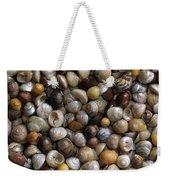 Topshells Whelk And Periwinkle Shells Weekender Tote Bag