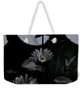Torchlight Water Flowers Weekender Tote Bag