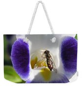 Torenia From The Duchess Mix Weekender Tote Bag